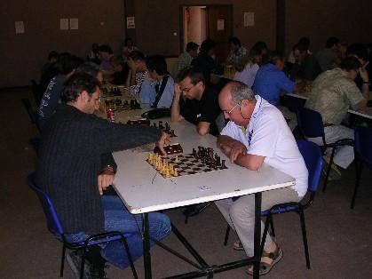 Le sympathique Marc SARES (à droite) est vice-champion de Vaucluse vétéran 2005